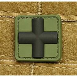 Parche JTG RedCross Medic Verde