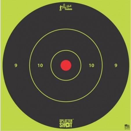"Diana Pro-Shot Bulls-eye 12"" Green Tag 5 unid."