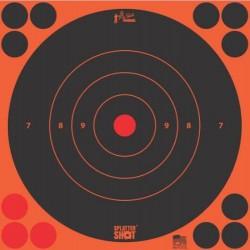 "Diana Pro-Shot Bulls-eye 8"" Orange 6 unid"