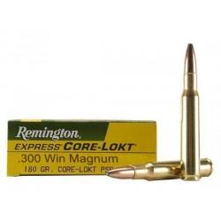 Munición Remington .300 WM 180 Core-Lokt PSP