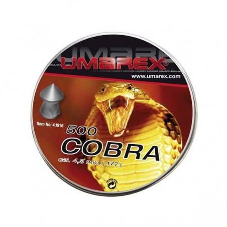 Balín Umarex Cobra 4.5 mm 500 und
