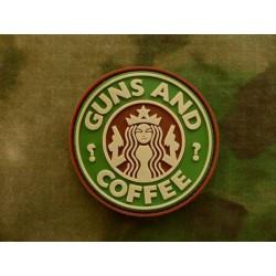 Parche JTG Guns and Coffee...
