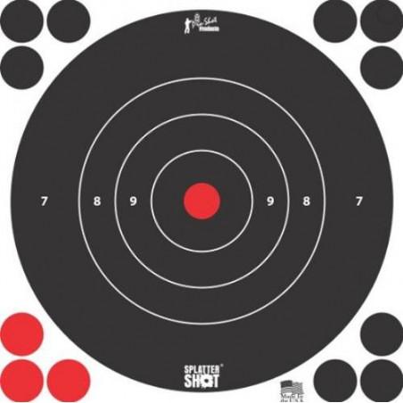 "Diana Pro-Shot Bulls-eye 12"" White 5 unid."