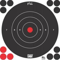 "Diana Pro-Shot Bulls-eye 8"" White 6 unid"
