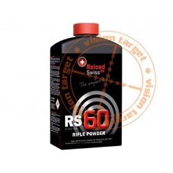Pólvora Reload Swiss RS60 1 Kg