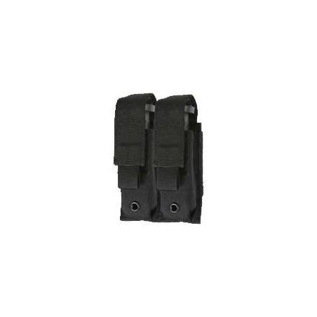 Funda MTP Cargador M16 Velcro Doble Negra