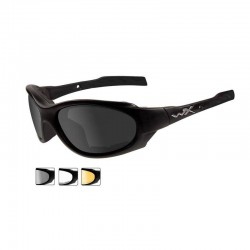 Gafas de Tiro Wiley X XL-1 Smoke Grey/Clear/Light