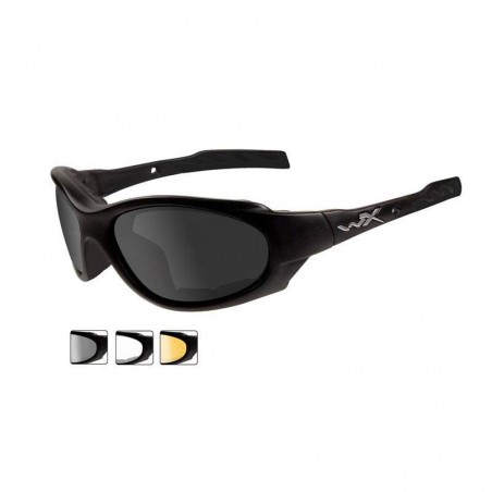 Gafas de Tiro Wiley X XL-1 Smoke Grey/Clear/Light