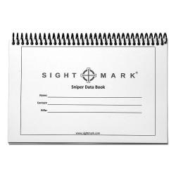 Cuaderno Tirador Sightmark Sniper Data Book