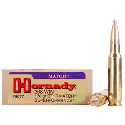 Munición Hornady .308 Win...