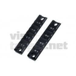 Monturas Leapers H&K  G36 Picatinny 2 Rails 501