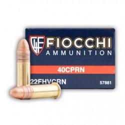 Munición Fiocchi .22 LR High 40 CPRN