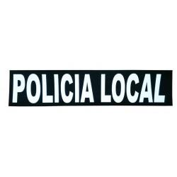 Parche MTP Policia Local Reflectante Velcro