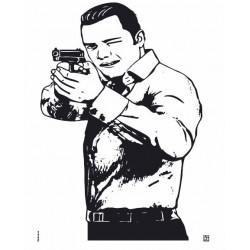 Diana Klamer Pistola Apunta...