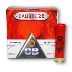 Cartucho GB 28 Caza 15 gr 7