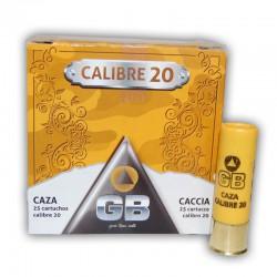 Cartucho GB 20 Caza 30 gr 7