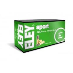 Munición Eley .22 LR Sport...