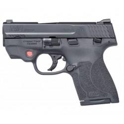 Pistola Smith&Wesson M&P9 M2 Shield Laser Rojo