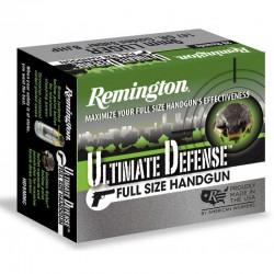 Munición Remington 9 Pb 124 Ultimate Defense BJHP