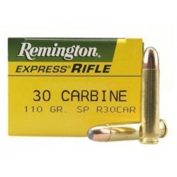 Munición Remington 30 Carbine Core Lokt
