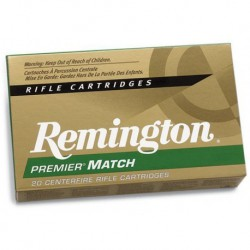Munición Remington .308 Win 168 Match