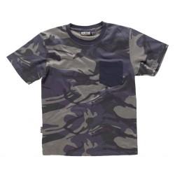 Camiseta Hunterteam Camuflaje