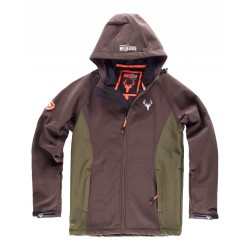 Chaqueta Hunterteam Workshell Combinada