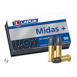 Munición Lapua .22 LR Midas + 40 LRN