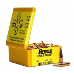 Puntas Berger .30-200 Hybrid Target