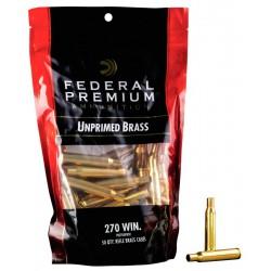 Vainas Federal .270 Win  Bagged Brass 50 und.