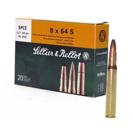 Munición Sellier&Bellot 8x64S 196 SPCE