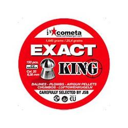 Balín JSB Cometa 6.35 Exact King 1.645