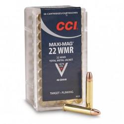 Munición CCI .22 Magnum...