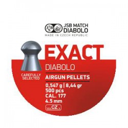 Balín JSB Diabolo Exact 4.52 - 0.547 500 und.
