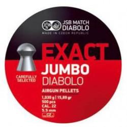 Balín JSB Diabolo Jumbo Exact 5.52 - 1.030 500 un