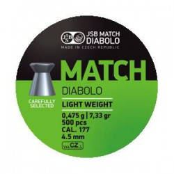 Balín JSB Match 4.49 - 0.475 500 und.