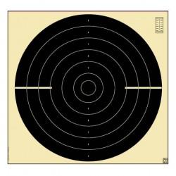 Blanco Klamer 55x52 Rápido Pistola Libre 100 unid.