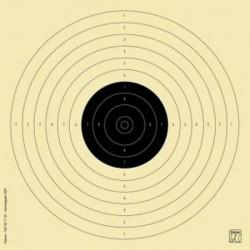 Blanco Klamer Precision Pistola Aire 17x17