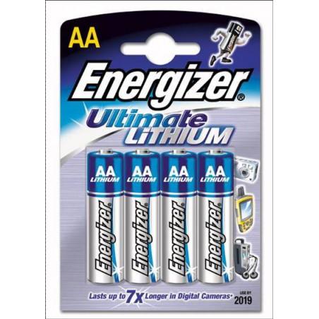 Baterías Energizer Ultimate Litjium AA